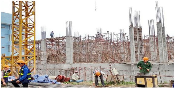 đảm bảo an toàn trên công trường xây dựng