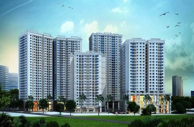 Các tòa chung cư cao tầng này có thiết kế hệ thống thoát nước mưa không?
